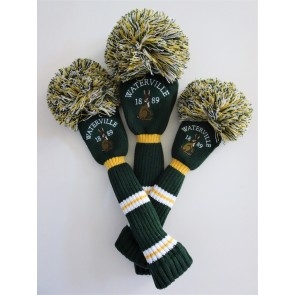 Gold & Green Waterville Headcovers