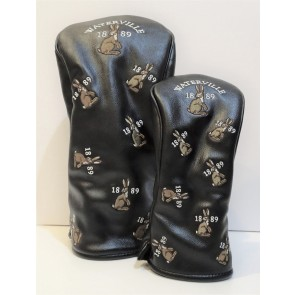Waterville Leatherette Headcovers - Black